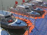 Pontón plástico del dique flotante