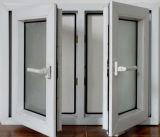 석쇠 디자인에 의하여 이중 유리로 끼워지는 UPVC 여닫이 창 Windows