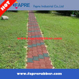 Собака-Bone Pavers Rubber Brick Tile 43mm Thickness Red Face