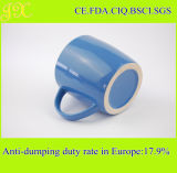 Tazza di ceramica della glassa all'ingrosso con la maniglia per caffè