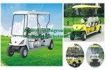 2つのシートの小型電気自動車か可能な通りのゴルフカート