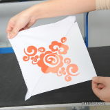 Papier d'imprimerie de transfert thermique de sarclage d'individu pour le tissu de coton