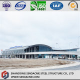 Steel Structure Hangar with Arc Roof