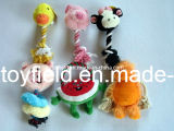 Hundespielzeug-Plüsch-Seil-Produkt-zusätzliches Zubehör-Haustier-Spielzeug