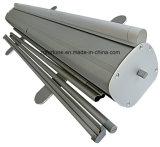 Das im Freien/Innenbekanntmachen verdicken Aluminium rollen oben Fahnen-Standplatz mit zwei Löchern