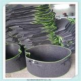 I tessuti non tessuti che appendono il fiore coltivano il sacchetto della scuola materna del nero della pianta del sacchetto