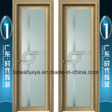Porta do banheiro e fábrica interiores estéticas da porta do chuveiro