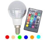 ampoule de 3W RVB Lampada DEL