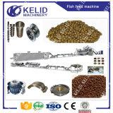 Linha de processamento de flutuação a rendimento elevado da alimentação dos peixes