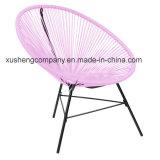 Cadeira de jardim colorida do Rattan redondo por atacado