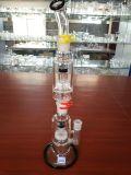 Doppeltes Perc rauchendes Wasser-Rohr des Modell-Df2085