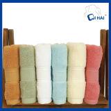 Tovagliolo del bagno tinto spazio del cotone (QH66774)