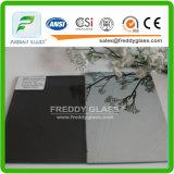 8mm 어두운 회색 사려깊은 유리 Reflecitve 색을 칠한 또는 착색된 사려깊은 유리