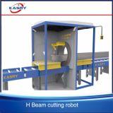 Macchinario d'acciaio di taglio del plasma di CNC della Manica del travetto del fascio di Constructural H
