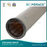 Sacchetto filtro industriale del feltro dell'ago di filtro dell'aria di Baghousing