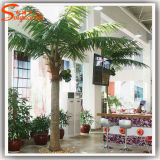 2015 Factory Direct Decorative Artificial Fan Palm Plant Trees (PM075)