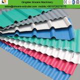주름을 잡는 PVC 또는 내미는 파 또는 지붕 압출기 기계 생성