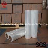 Película de estiramento transparente do LDPE da película da embalagem