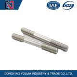 Double boulon de goujon d'extrémité de l'acier inoxydable A2 A4 avec le certificat d'OIN