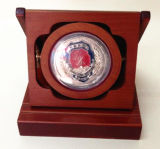 Caja de almacenamiento de gran Medalla de la Policía Ronda