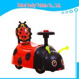 Автомобиль качания младенца с автомобилем качания младенца новой модели света нот