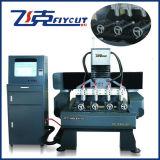 Máquina rotatoria del ranurador del CNC para el grabado de madera y la talla de la columna