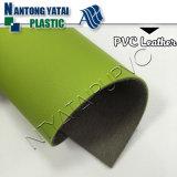 良質のLeatheretteが付いている家具製造販売業のソファーの椅子のための反加水分解PVC革