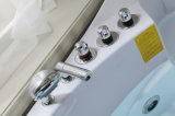 花のハイドロ鉱泉のジャクージの渦のたらいのマッサージの浴槽(BLS-8328)