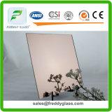 miroir argenté de 2mm, de 3mm, de 4mm, de 5mm et de 6mm, miroir en aluminium, cuivre libre et miroir sans plomb, miroir de sûreté, miroir conique
