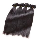 Do cabelo não processado do Virgin 7A do cabelo peruano do Virgin 4 pacotes retos dos Cocos retos da extensão do rei cabelo reto do cabelo humano
