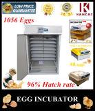Le meilleur prix ! Le poulet 1056 de capacité Eggs l'incubateur d'oeufs de volaille