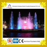 De kleurrijke Fontein van de Muziek van het Water van de Pool voor Winkelcomplex