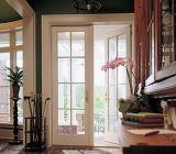 Schwingen außen/Innenraum Verglasung französische hölzerne Tür