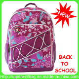 Printing cheio Fashion Colorful School Backpack Students Backpack para Girls