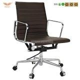 현대 사무용 가구 회전대 낮은 뒤 가죽 Ribbed 사무실 의자 (HY-020B)