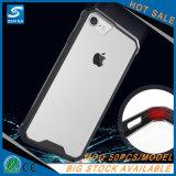 iPhone 8을%s 단단한 플라스틱 명백한 셀룰라 전화 상자