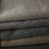 Tessuto di tintura del velluto molle del poliestere di Uphostery per il sofà e la tenda