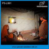 Мобильный телефон поручая фонарик PS-L061 СИД солнечный с панелью солнечных батарей 2 для сельских районов