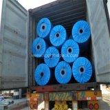 Bâche de protection bleue de PE de la largeur 156cm/206cm170GSM du Brésil de couleur