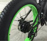 아래로 관 건전지 48V 12ah를 가진 48V 750W Bafang 전기 뚱뚱한 자전거