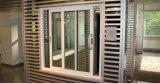 Puertas de entrada de aluminio comerciales de Windows