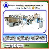 Machine de conditionnement de pesage automatique de nouille en bloc