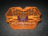 Cestini di plastica della zucca di Halloween (HW010)