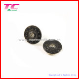 Singolo Pin Jeans Button con Embossed Custom Logo