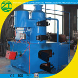 Incinerador Waste com o gerador que recicl a máquina