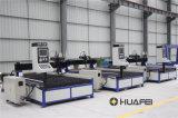 Het Plasma van Huafei CNC van Jinan en de Scherpe Machine van de Vlam