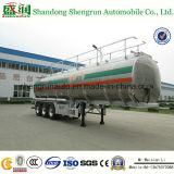 Semi Aanhangwagen van de Tanker van het Vervoer van de Aanhangwagen van de Tank van de Brandstof van de Legering van het aluminium de Chemische Vloeibare