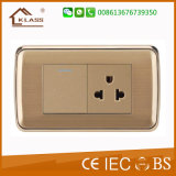 5V 2.1A Us USB Socket de parede e Plug