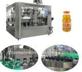 Terminar a máquina de enchimento quente do sumo de laranja para o frasco de vidro