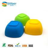 Оптовые BPA освобождают шар сервировки еды салата формы силикона квадратный